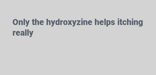 hydroxyzine helps itching1