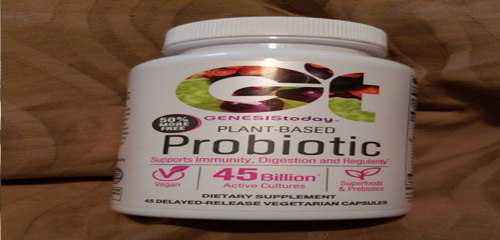 I usually take the probiotic gummies