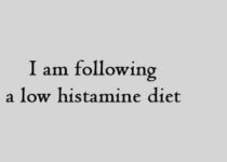 I am following a low histamine diet